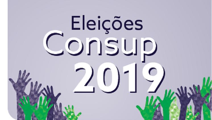 Eleições CONSUP 2019: Campanha Eleitoral